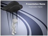 Black Cloud Editable PowerPoint Template