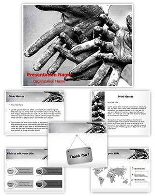Child Labor Editable PowerPoint Template