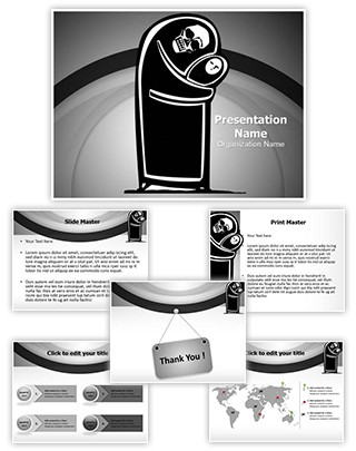 Child Mortality Editable PowerPoint Template