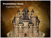 Disney Old Castle Editable PowerPoint Template