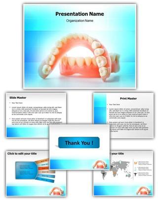 Dental Casting Editable PowerPoint Template