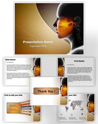 Maxillofacial Editable PowerPoint Template