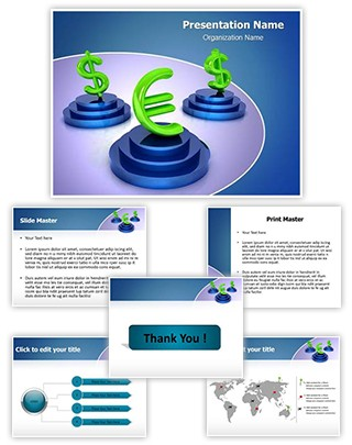 Money Symbols Editable PowerPoint Template