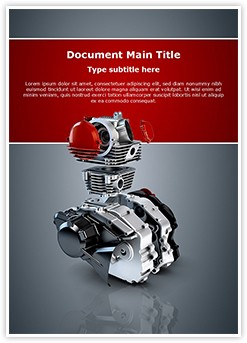 Two Stroke Engine Editable Word Template