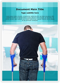 Crutch Editable Word Template