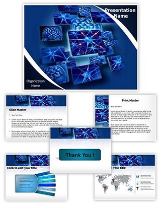 Neuron Function Editable PowerPoint Template