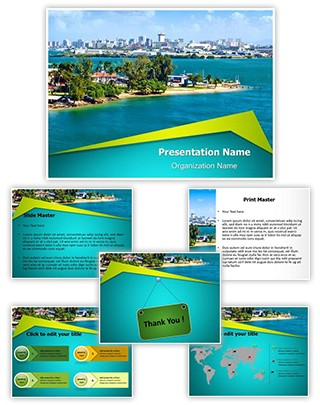 Puerto Rico Editable PowerPoint Template