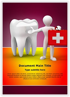 Dental doctor Editable Word Template