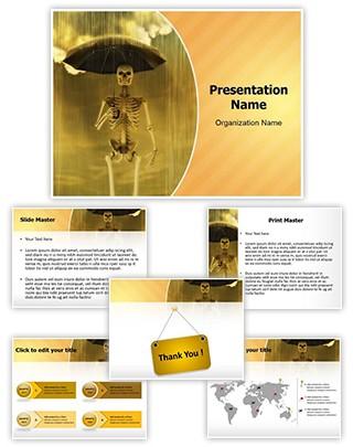 Acid Rain Editable PowerPoint Template