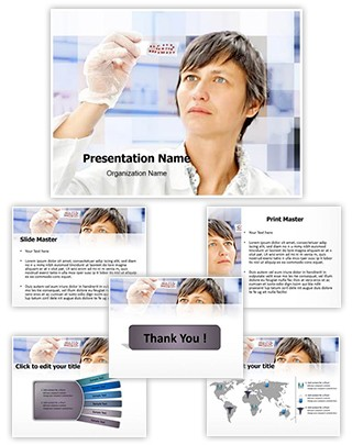 Biological tissue Editable PowerPoint Template