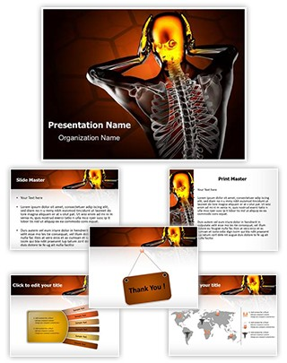Trauma Radiography Scan Editable PowerPoint Template