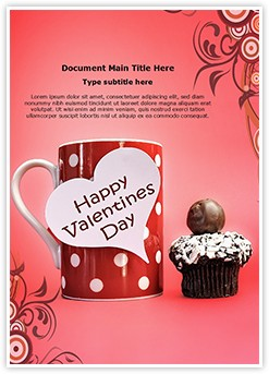 Happy Valentines Day Editable Word Template