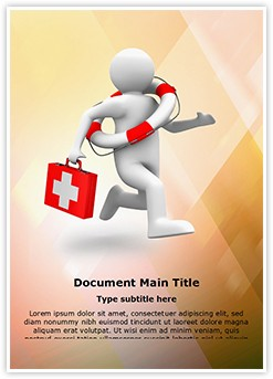 life saving doctor Editable Word Template