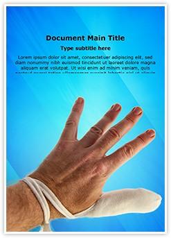 bandage Editable Word Template