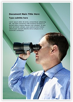 business vision Editable Word Template