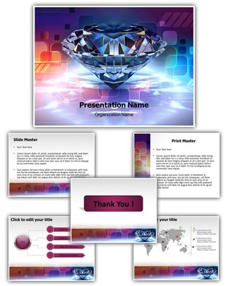 Diamond Editable PowerPoint Template