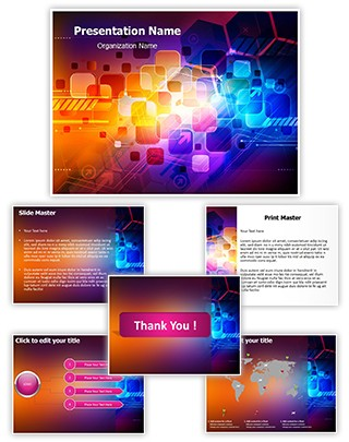 Colorful Abstract Editable PowerPoint Template