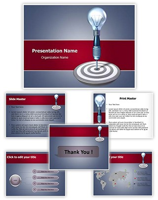 Target Idea Editable PowerPoint Template