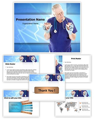 Heart Transplant Editable PowerPoint Template