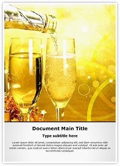 Drink Editable Word Template