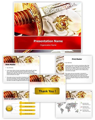 Marine Corps Editable PowerPoint Template