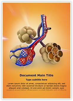 Alveoli in Lungs Editable Word Template