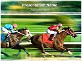 Racing Horses Template