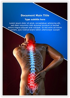 spinal Pain Editable Word Template