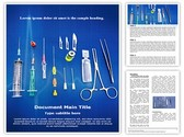 surgical equipment Template