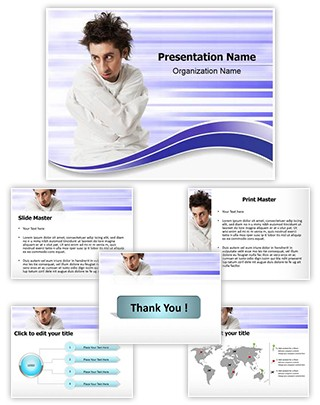 Mentally Ill Editable PowerPoint Template