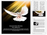 White Dove Editable Word Template