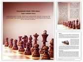 Wooden Chess Template