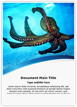 Octopus Editable Word Template