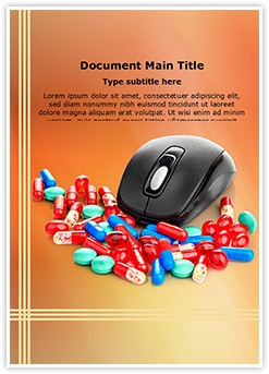 online medical store Editable Word Template
