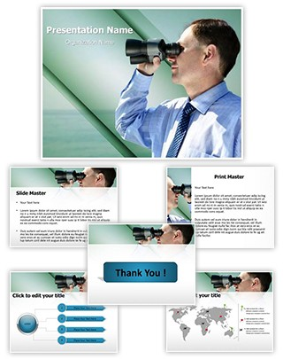 Business Vision Editable PowerPoint Template