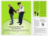 police arrest Editable Word Template
