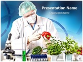 Genetic Engineering Lab PowerPoint Templates