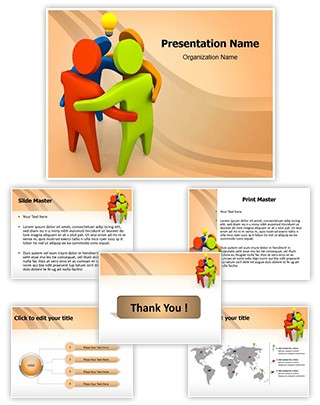 Group Idea Editable PowerPoint Template