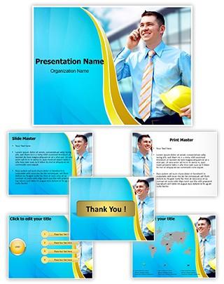 Architect Editable PowerPoint Template