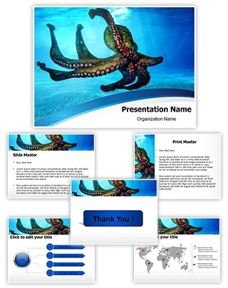 Octopus Editable PowerPoint Template