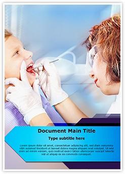 Dental Checkup Editable Word Template
