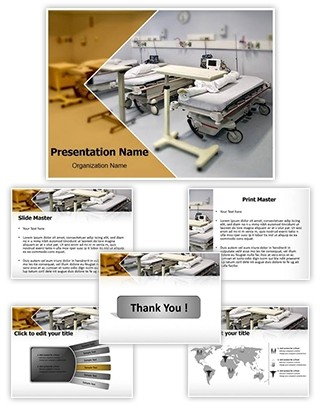 Hospital Room Editable PowerPoint Template
