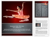 Ballerina Editable Word Template