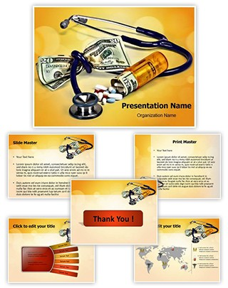 Medical Expense Editable PowerPoint Template