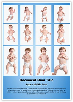 Child Development Stages Editable Word Template