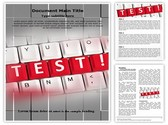 Test Words Template