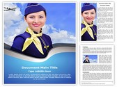 Stewardess Editable Word Template