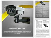 CCTV Security Camera Template