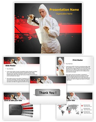 Forensic Scientist Editable PowerPoint Template