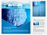 Floating Iceberg Editable Word Template